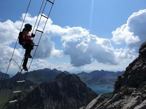 #klettern und #klettersteige - cover