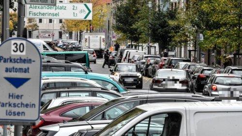 Berlin-Mitte: Jeder vierte Parkplatz soll abgeschafft werden
