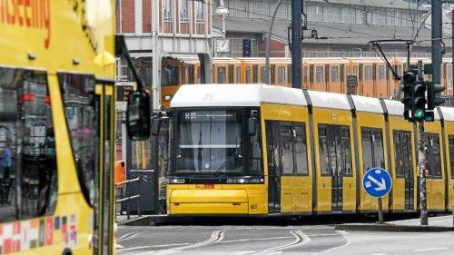BVG: Straßenbahn-Baustellen in Berlin - Hier gibt Einschränkungen