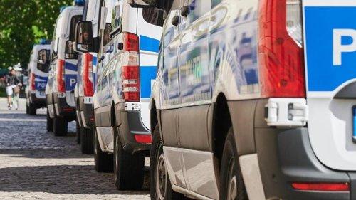 Zusätzliche Polizisten beim ersten EM-Deutschlandspiel