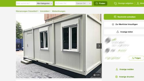 """Ebay Kleinanzeigen: Dreiste """"Tiny House""""-Anzeige sorgt für Ärger"""