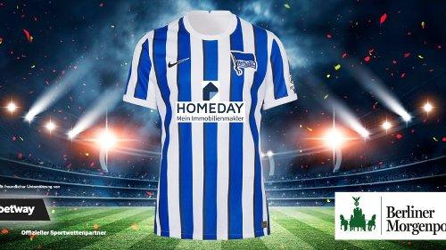 Gewinnen Sie ein handsigniertes Trikot von Hertha BSC!