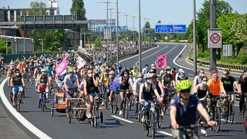 Aktivsten demonstrieren am Freitag gegen Ausbau der A100