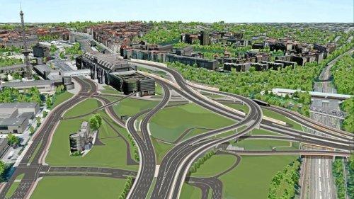 Wie das Autobahndreieck Funkturm umgebaut werden soll