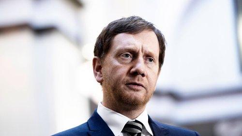 CDU: Kretschmer kritisiert Grüne für Vorgehen im Fall Palmer