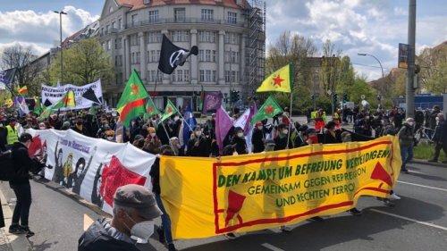 Demo in Berlin heute: So läuft der Protest der Linken gegen Polizeigewalt