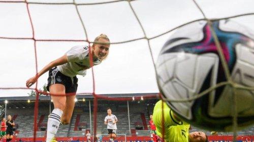 WM-Qualifikation: DFB-Frauen starten mit 7:0 gegen Bulgarien