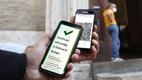 """Corona in Italien: Keine Arbeit ohne """"Grünen Pass"""" - drastische Maßnahme"""