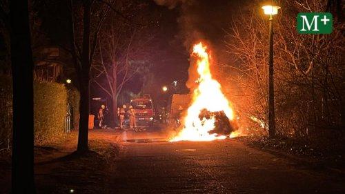 Berlin: 15 Autos brannten im gesamten Stadtgebiet
