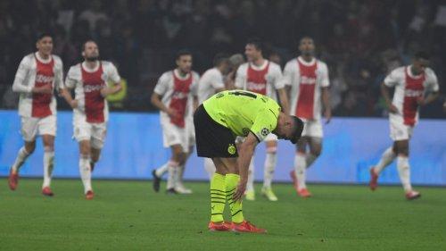 Lehrstunde für überforderten BVB: 0:4 bei Ajax Amsterdam