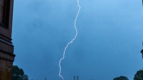 Gewitter und Unwetter bestimmen weiterhin das Wetter