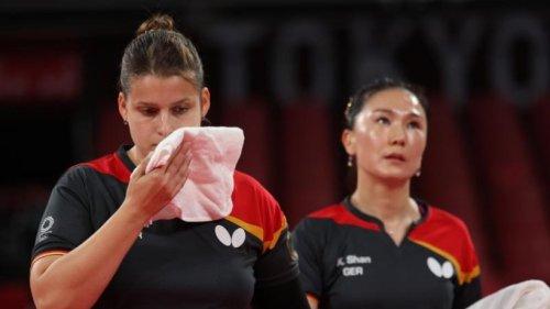 Tischtennis-Frauen verpassen Olympia-Medaille