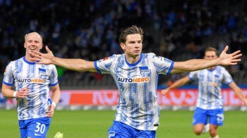 Endlich siegreich: Hertha gewinnt 2:1 in Fürth