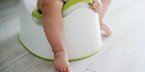 Have a toddler who won't sit on the potty? This is the hack you need.