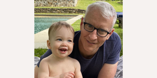 Anderson Cooper missed his son's major milestone because he was at work