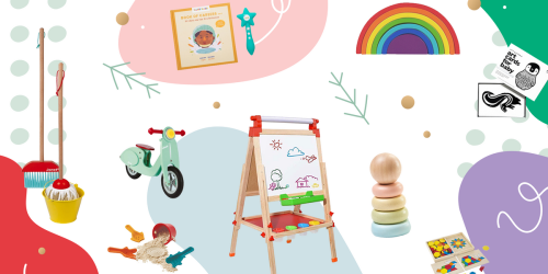 A Montessori-inspired gift guide—for newborns to 6-year-olds