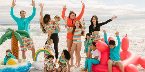 10 great places to buy matching swimsuits for the entire family