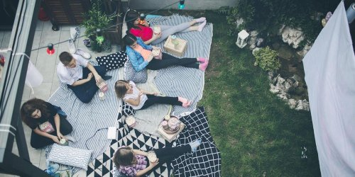Everything you need for an outdoor movie night