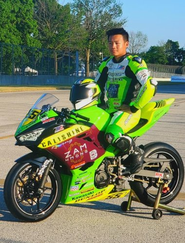 Calishine Racing's Thao Wins Three Races And Sets New Track Record At Brainerd – MotoAmerica