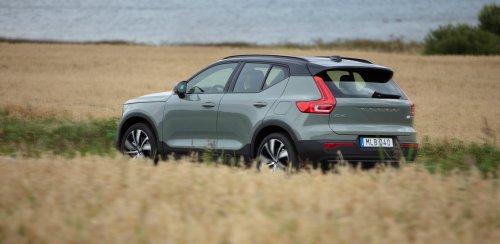 Wie sich der Volvo XC40 mit Elektroantrieb fährt