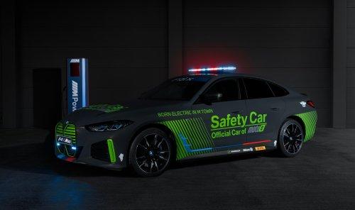 Debut in Spielberg für den BMW i4 M50 als Safety Car