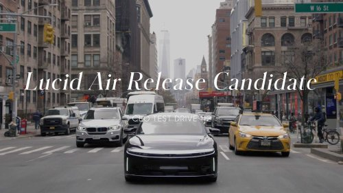 Lucid CEO Peter Rawlinson Takes The Air For A Spin Around Manhattan