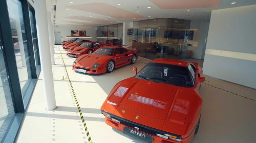British Ferrari dealer displays all five flagships and rare Monza SP2