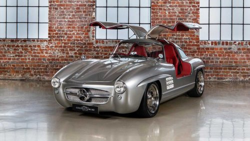Mercedes SLK 32 AMG Had To Die So This Gullwing Replica Could Live