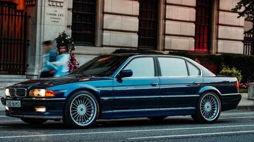 Rare 1998 Alpina B12 comes up for sale and it's just oh-so-perfect