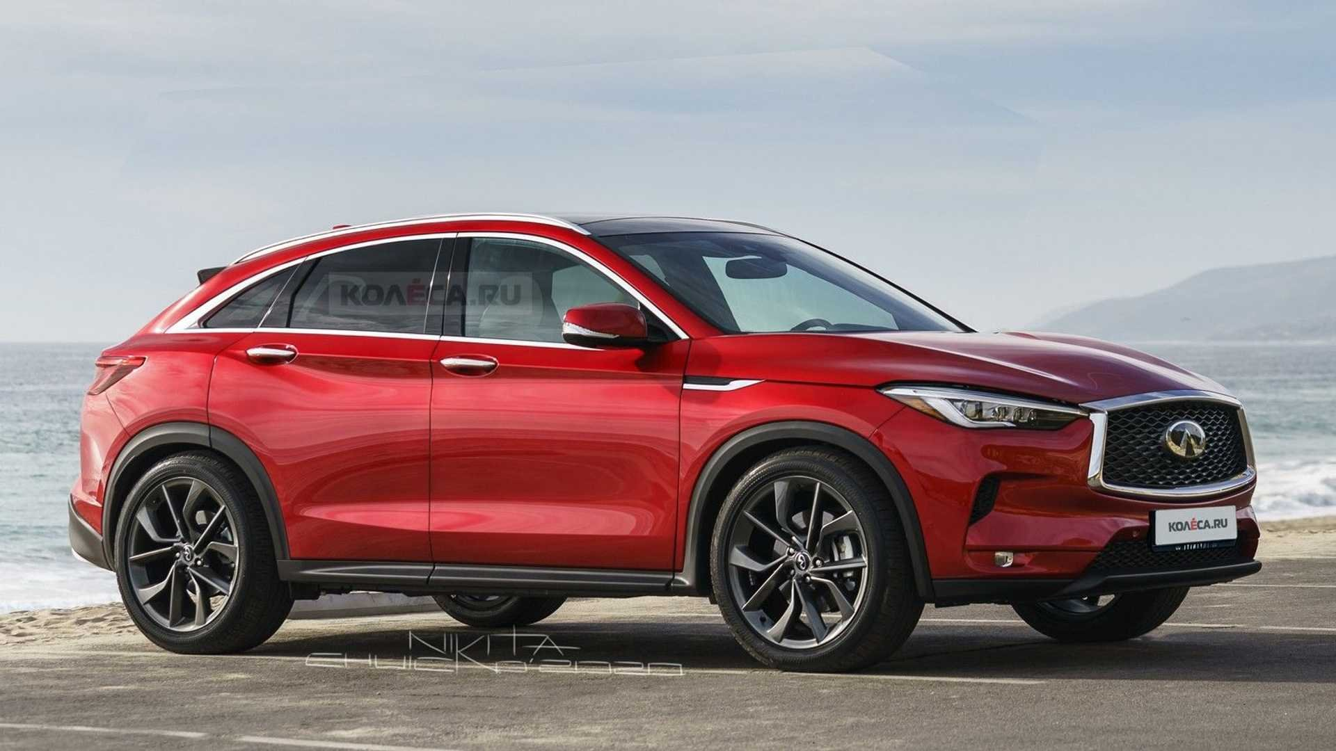Infiniti QX55 Unhides All The Details In New Rendering
