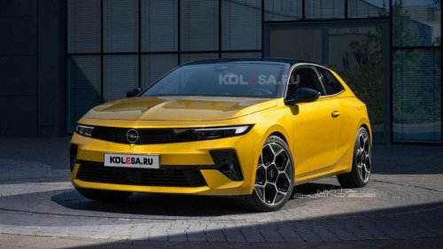 2022 Vauxhall Astra GTC rendering needs to become reality