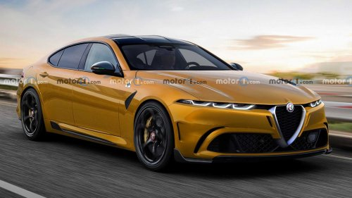 Alfa Romeo GTV Could Come Back As BMW i4 Rival With Electric Power
