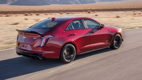 Cadillac CT4-V Blackwing Laps VIR Faster Than BMW M5 Competition