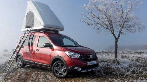Dacia Dokker camper is a mini-motorhome that won't break the bank