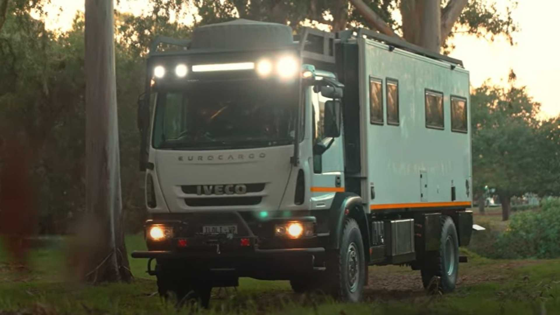 Iveco overlander vehicle has everything you need and it'll take you anywhere