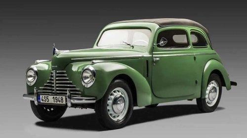 """Skoda 1101/1102 """"Tudor"""" (1946-1952): Neustart vor 75 Jahren"""