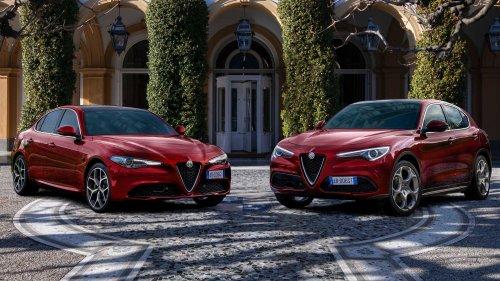 Alfa Romeo Giulia, Stelvio arrive in 6C Villa d'Este special editions