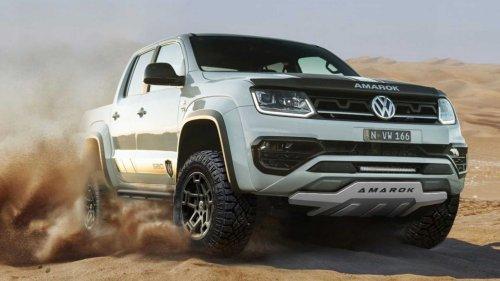 Volkswagen Amarok 580X Debuts As Tough Off-Road Special Edition