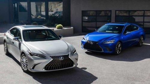2022 Lexus ES Arrives With Tweaked Tech, New 300h F Sport Trim