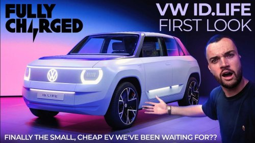 Fully Charged checks out VW ID Life at IAA 2021
