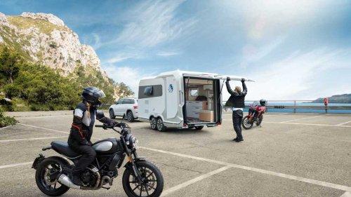 Knaus Deseo 400 TR Edition IC-Line: Caravan mit Motorrad-Garage