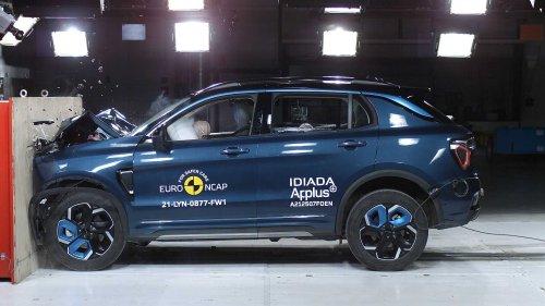 EuroNCAP-Crashtest: Chinesische SUVs erhalten 5 Sterne