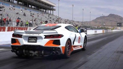 Watch Quarter-Mile Run That Got World's Fastest Corvette Booted