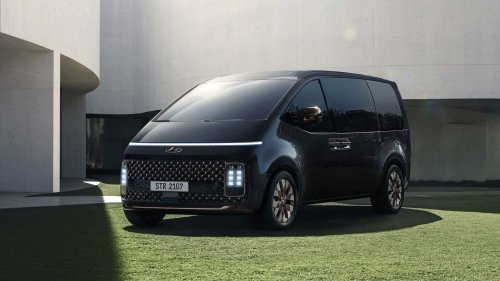 Hyundai Staria Technical Specs Revealed, Limo And Camper Coming