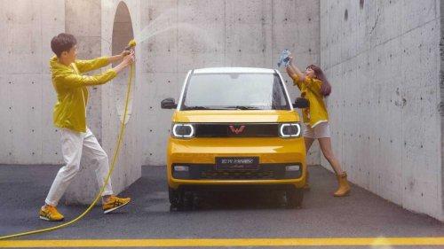 China: Wuling verkauft 30.000 Hong Guang Mini EV im Mai 2021