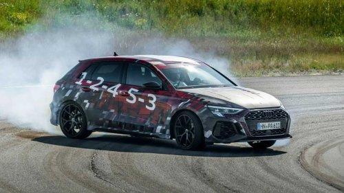 2022 Audi RS3 gets torque-split rear diff, turbo five-cylinder