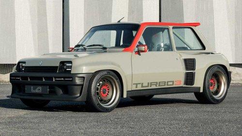 Renault 5 Turbo 3 debuts as widebody restomod bathed In carbon fibre