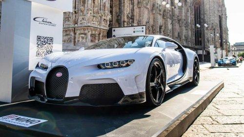 Bugatti Chiron Super Sport Makes Public Debut With The Bolide