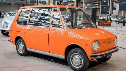 Vergessene Studien: Fiat 850 City Taxi (1968)