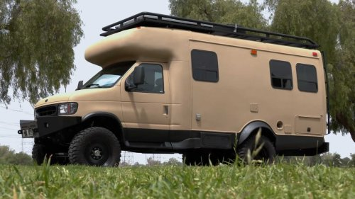 Old Ford Camper Is Reborn As Epic Overlanding RV With Attitude